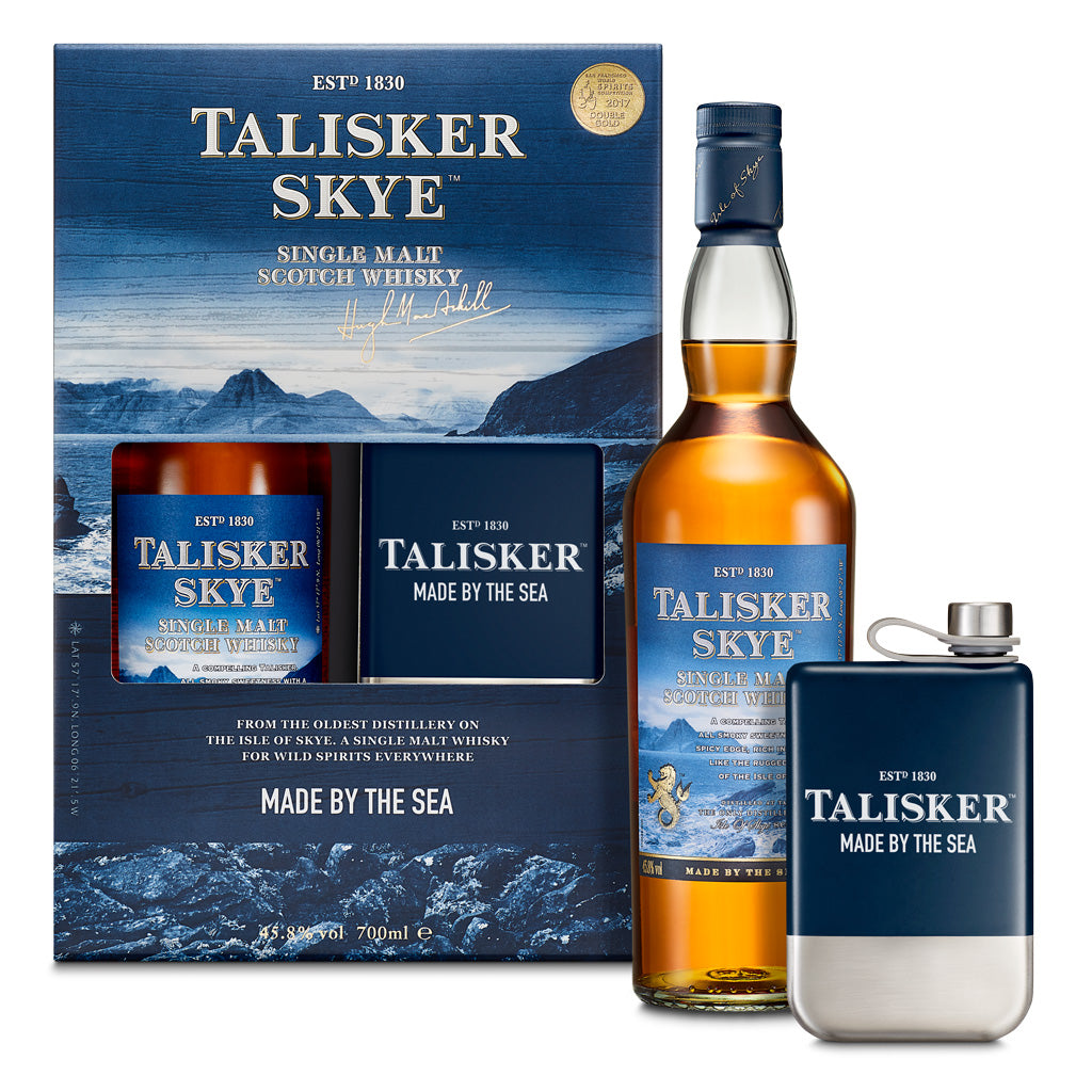 Talisker Skye Hip Flask Pack