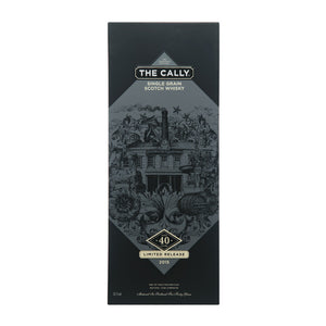 Caledonian 'The Cally' 40 Year Old Single Grain Scotch Whisky, 70cl