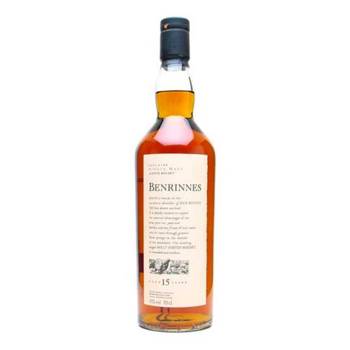 Benrinnes 15 Year Old Flora & Fauna Single Malt Whisky, 70cl