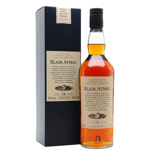 Blair Athol 12 Year Old Flora & Fauna Single Malt Whisky, 70cl