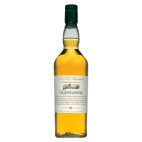 Glenlossie 10 Year Old Flora & Fauna Single Malt Whisky, 70cl