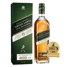 Load image into Gallery viewer, Johnnie Walker Green Label 15 Year Old