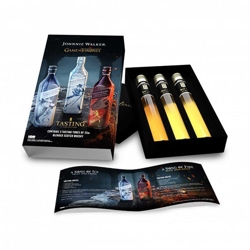 Johnnie Walker Game of Thrones Whisky Gift Set, 3x25ml