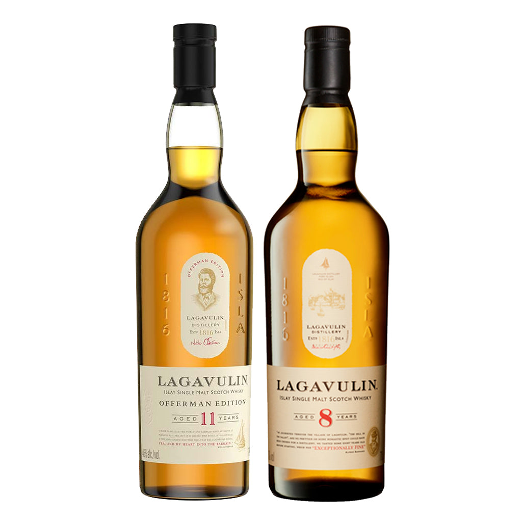 Lagavulin Offerman Edition & 8 Year Old Pack