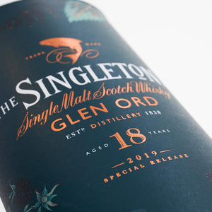 The Singleton Of Glen Ord 18 Year Old Special Release 2019