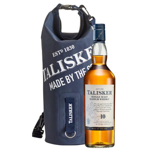 Talisker 10 Year Old Single Malt Scotch Whisky & Dry Bag Set, 70cl (Gift Mug Included)