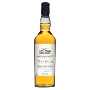 Teaninich 10 Year Old Flora & Fauna Single Malt Whisky, 70cl