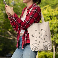 Premium Heavy-Duty Natural Canvas Tote Bag - Barn Buds® Company