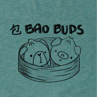 Bao Buds, Heather Mint, Racerback Tank, Women, Apparel, Barn Buds® Company