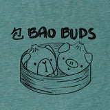 Bao Buds, Heather Mint, Tshirt, Women/Men/Youth, Apparel, Barn Buds® Company