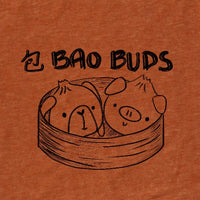 Bao Buds, Heather Rust, Tshirt, Women/Men/Youth, Apparel, Barn Buds® Company