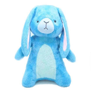 Barn Buds Company: Eleanor the Blue Bunny Rabbit Stuffed Animal Plush Toy Front