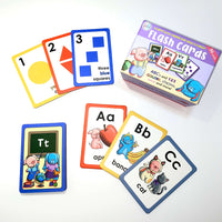 Educational Flashcards for Toddlers - Learn Letters Colors Shapes Numbers Words and More!