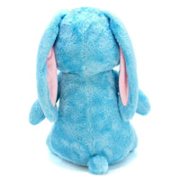 Barn Buds Company: Eleanor the Blue Bunny Rabbit Stuffed Animal Plush Toy Back