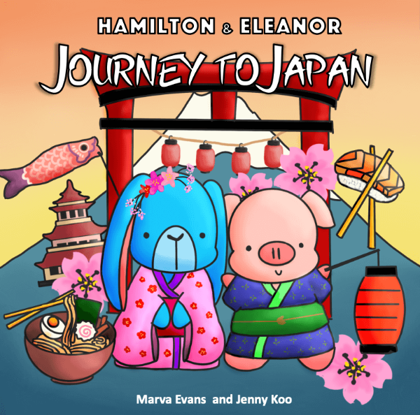 Journey to Japan: Children's Book