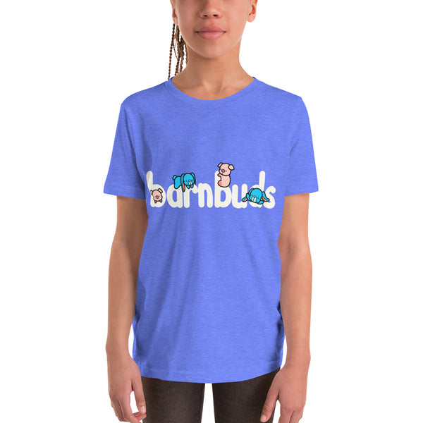 barn buds hamilton pig eleanor bunny cute character shirt logo youth