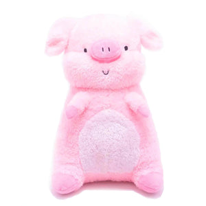 Barn Buds Company: Hamilton the Pink Pig Stuffed Animal Plush Toy Front