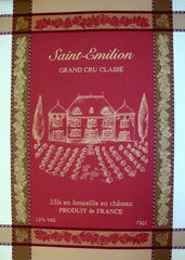 Saint Emilion Jacquard Reversible - 100% Cotton - 19x27""