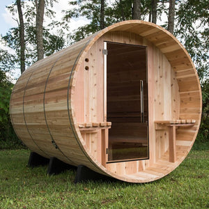 (DEMO) Huntington Cedar 6 Person Traditional Steam Sauna