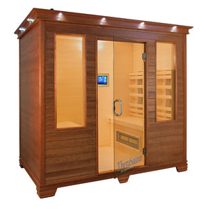 (DEMO) 4 Person Face to Face FAR Infrared Sauna with MPS Touch View Control