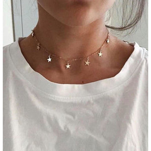 Star of the Show Necklace - Gold