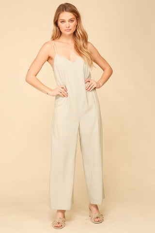 Nora Jean Striped Jumpsuit