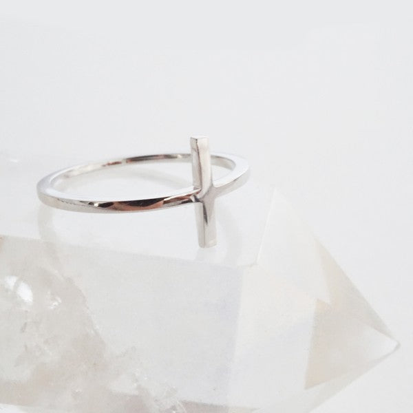 Perfect  T-Bar Ring