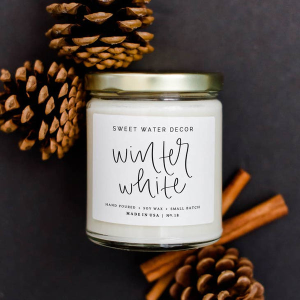 Winter White Soy Candle | 9 oz.