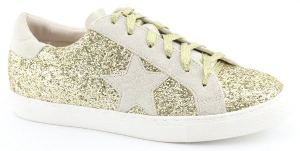 Bella Glitter Low-Top Sneaker