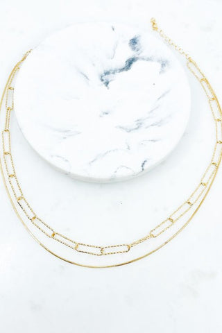 Dainty Double Strand Necklace