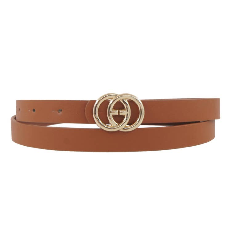 Thin Designer Inspired Belts