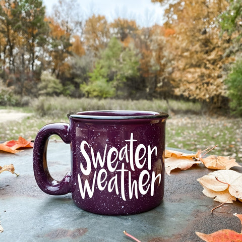 Sweater Weather Campfire Coffee Mug