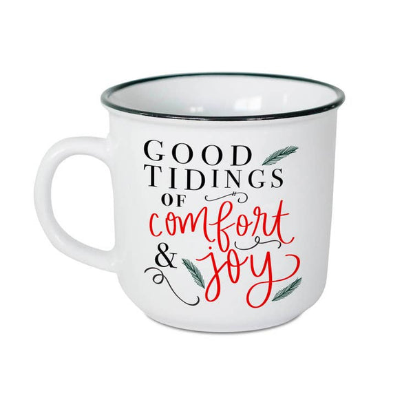 Good Tidings of Comfort and Joy Campfire Coffee Mug