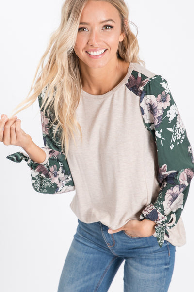 Springtime Bloom Top