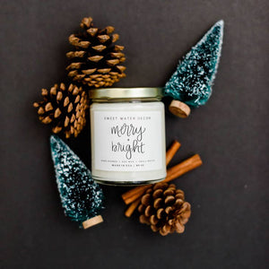 Merry and Bright Soy Candle | 9 oz.