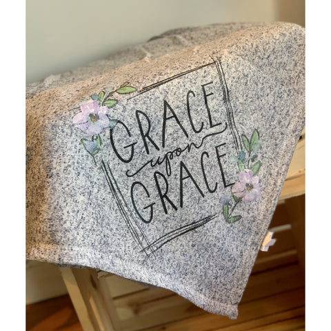 Grace Upon Grace Fleece Blanket