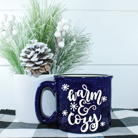 Warm and Cozy Campfire Coffee Mug