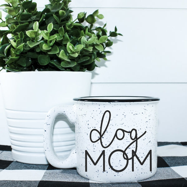 Dog Mom Campfire Coffee Mug