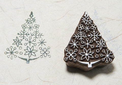 Patterned Xmas Tree 200