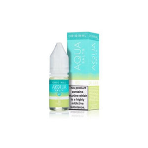 20mg Aqua Original by Marina Vape 10ml Flavoured Nic Salts