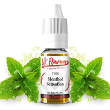 Load image into Gallery viewer, UK Flavour Menthol Range Concentrate 0mg 30ml (Mix Ratio 15-20%)