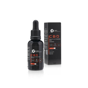 CBD Performance 500mg CBD Multi-Vitamin Oil 30ml