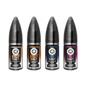 20mg Riot Squad Black Edition Nic Salts 10ml (70VG/30PG)