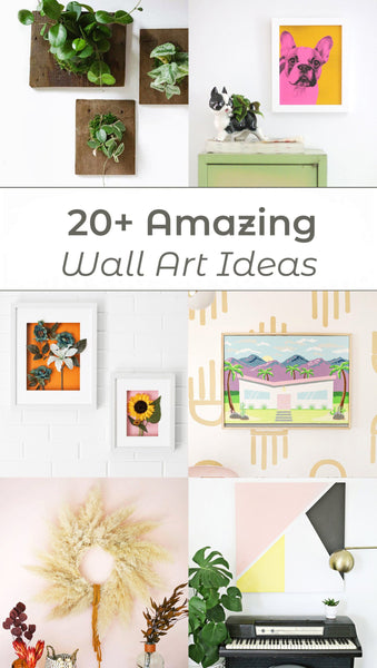 20+ Amazing DIY Wall Art Ideas