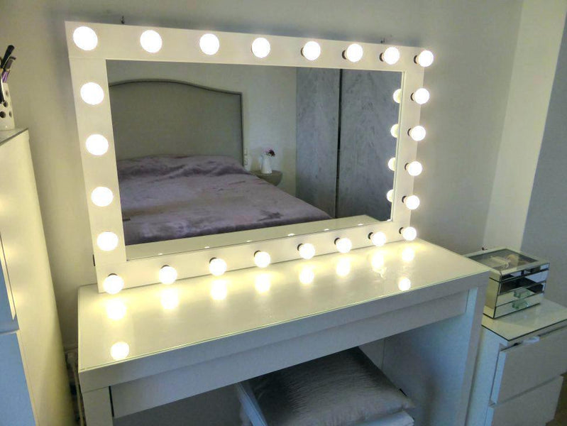 Gorgeus Tall Mirror With Lights