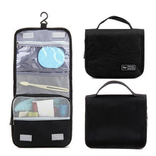 Load image into Gallery viewer, Waterproof Portable Cosmetic Storage Bag Travel Hanging Bag Makeup Organizer Case Pouch