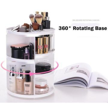 360 Degree Rotating Cosmetic Organizer - Shopify