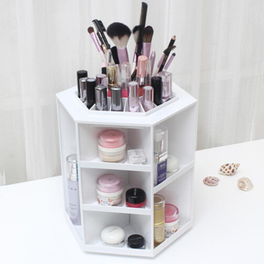 360 Rotating Make Up Organizer Cosmetic Display Storage Stand