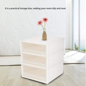 Best ejoyous drawer storage box multifunctional large plastic drawer storage organizer storage bins container for small sundries underwear magazines files makeups home accessories