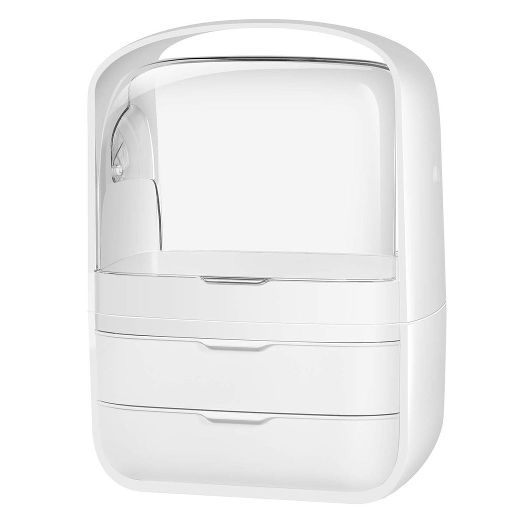 The Beauty Capsule™-Large Portable Acrylic Beauty & Makeup Organizer